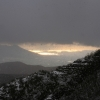 mount-vesuvius-and-snowing