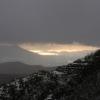 mount-vesuvius-and-snowing